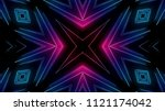 club lights background | Shutterstock . vector #1121174042