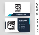 marketing chart  business card...