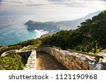 stones steps going to the the...   Shutterstock . vector #1121190968