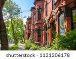saint john  new brunswick june... | Shutterstock . vector #1121206178