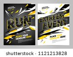 vector layout design template... | Shutterstock .eps vector #1121213828