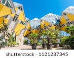 rotterdam  netherlands   21... | Shutterstock . vector #1121237345