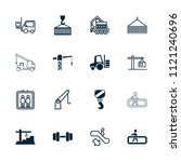 lift icon. collection of 16...   Shutterstock .eps vector #1121240696