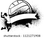 illustration of a woman... | Shutterstock .eps vector #1121271908