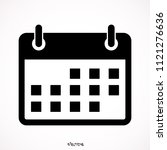 calendar isolated icon  vector  ...