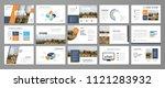 presentation templates for...   Shutterstock .eps vector #1121283932