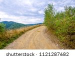 Unpaved Rural Road On A High...