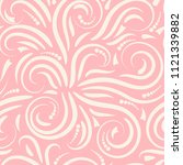 abstract curly seamless pattern.... | Shutterstock .eps vector #1121339882