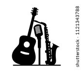 music jazz band icon. group of...   Shutterstock .eps vector #1121343788