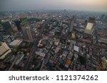 aerial view of modern asian... | Shutterstock . vector #1121374262