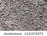 dry loam in the desert as... | Shutterstock . vector #1121376572