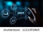 update software computer... | Shutterstock . vector #1121392865