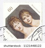 germany circa 2014  a stamp... | Shutterstock . vector #1121448122