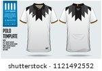 germany team polo t shirt sport ... | Shutterstock .eps vector #1121492552