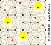 seamless circle design....   Shutterstock .eps vector #1121500178