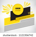 creative poster design.modern...   Shutterstock .eps vector #1121506742