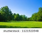 Park Lawn   Blue Sky