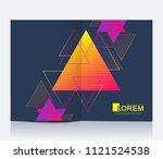 modern vector template for...   Shutterstock .eps vector #1121524538