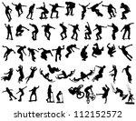 extreme sport   vector | Shutterstock .eps vector #112152572