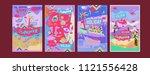 set of summer illustration for... | Shutterstock .eps vector #1121556428