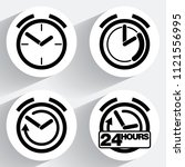 clock icons for web and...