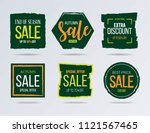 sale and discounts label ... | Shutterstock .eps vector #1121567465