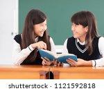 Teenagers Girl Student Studyin...