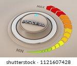 vintage style control knob dial ...