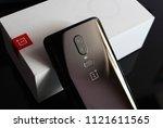 new delhi india   june 27th...   Shutterstock . vector #1121611565