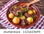 Hot Beef Stew With Tender Cubes ...