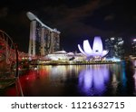 may 13  2018   singapore  ... | Shutterstock . vector #1121632715