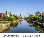 old canals of venice  build by... | Shutterstock . vector #1121642495