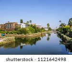 old canals of venice  build by... | Shutterstock . vector #1121642498