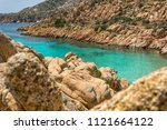 summer landscape with one of... | Shutterstock . vector #1121664122