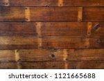 recycled hardwood floor texture | Shutterstock . vector #1121665688