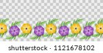 set paper cut vector art.... | Shutterstock .eps vector #1121678102