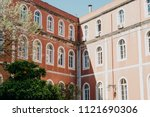 traditional european old... | Shutterstock . vector #1121690306