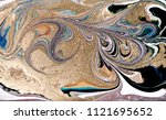 marble abstract acrylic... | Shutterstock . vector #1121695652