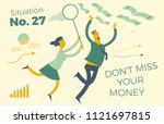 business infographics with... | Shutterstock .eps vector #1121697815