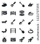 set of vector isolated black...   Shutterstock .eps vector #1121737355