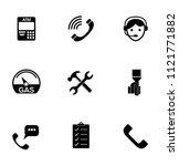 vector customer center and... | Shutterstock .eps vector #1121771882