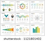 colorful finance or research... | Shutterstock .eps vector #1121801402