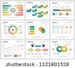 colorful statistics or planning ... | Shutterstock .eps vector #1121801528