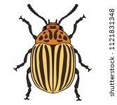 illustration of colorado... | Shutterstock . vector #1121831348