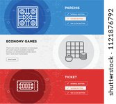ticket  economy games  parchis...