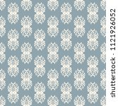 seamless vector decorative... | Shutterstock .eps vector #1121926052