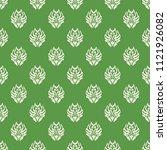 seamless vector decorative... | Shutterstock .eps vector #1121926082