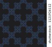 seamless vector decorative... | Shutterstock .eps vector #1121926112