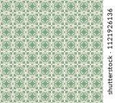 seamless vector decorative... | Shutterstock .eps vector #1121926136