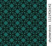 seamless vector decorative... | Shutterstock .eps vector #1121926142